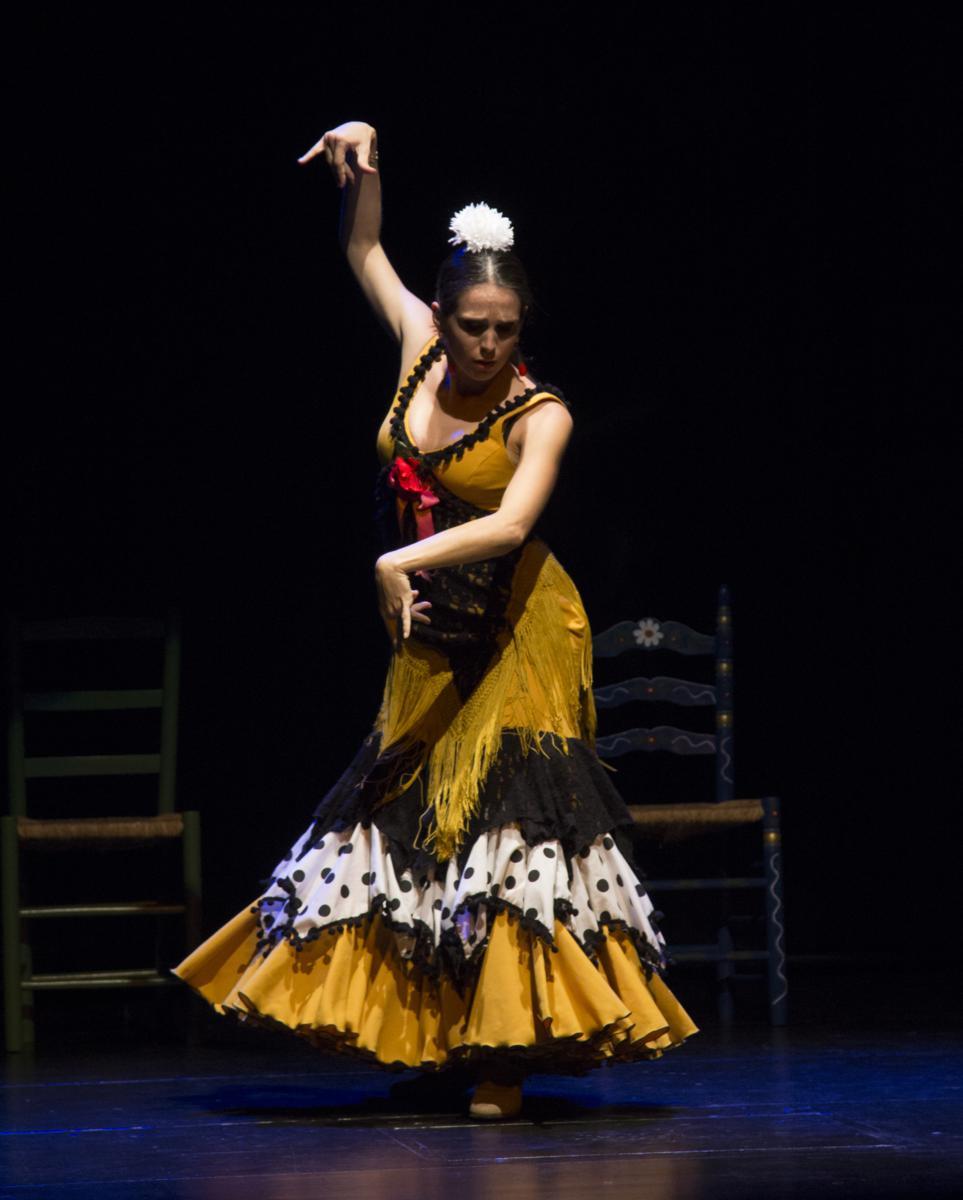 curso flamenco girona guajira baston gerundina