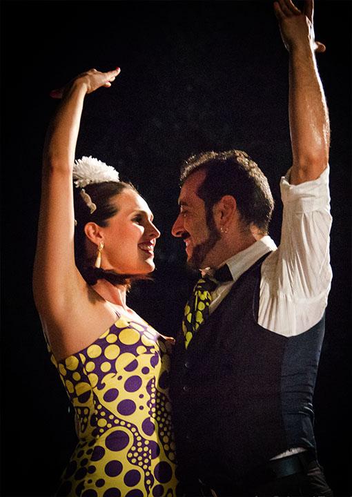 Granada Vins Cena + Flamenco