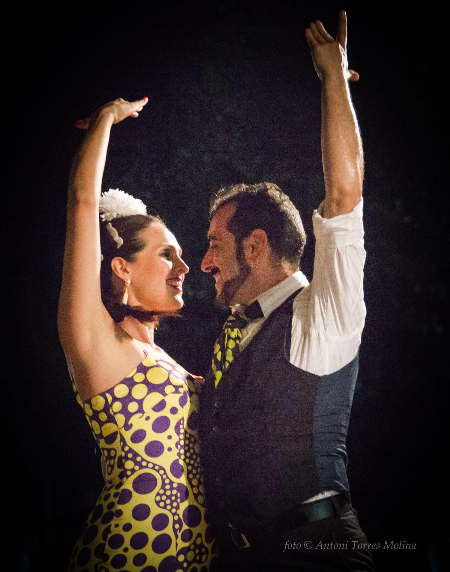 Flamenco, rumba, sevillanas, en Mollet de Peralada