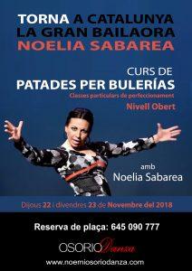 Curso Noelia Sabarea 2018 patadas por bulerias