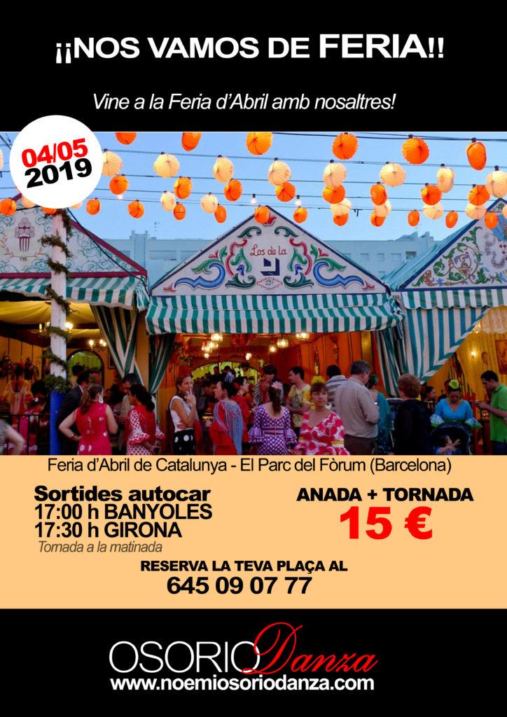 Feria de Abril Barcelona Excursion Banyoles Girona