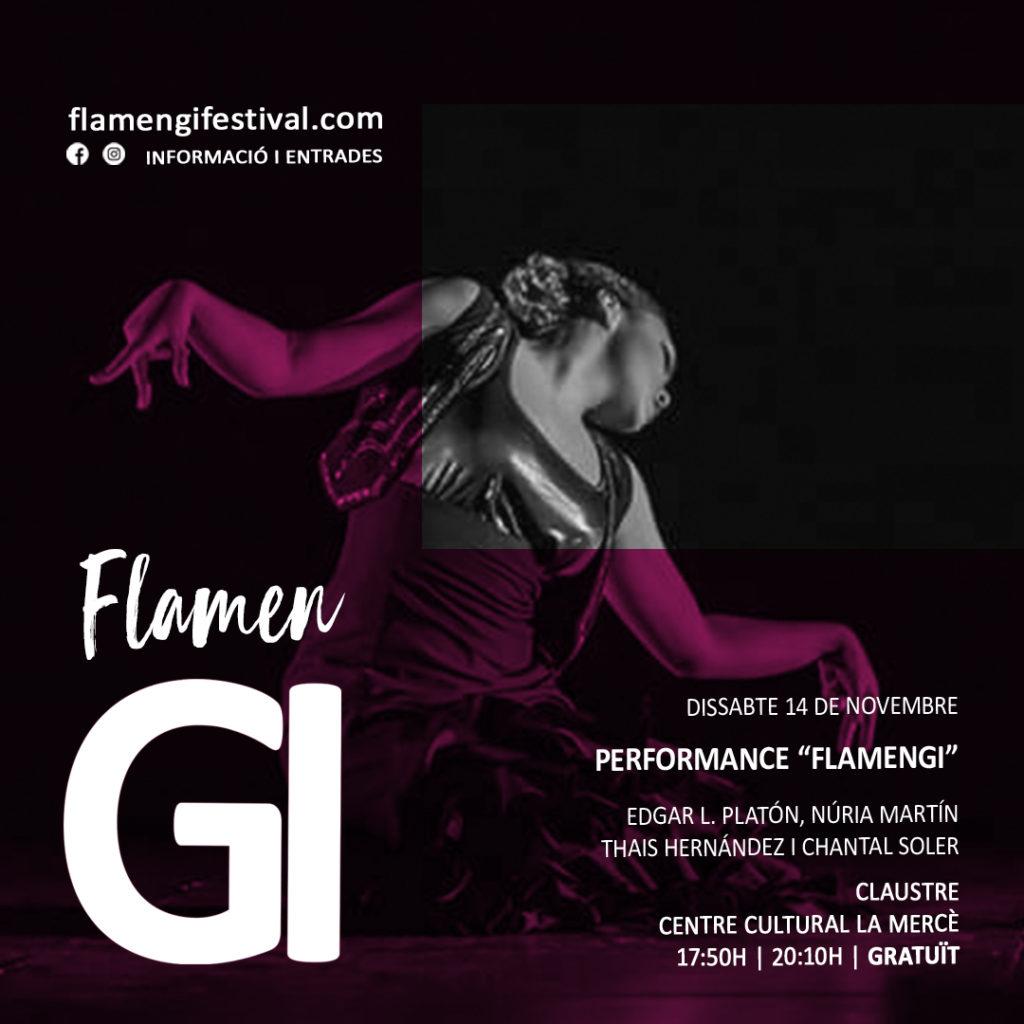 Performance flamengi festival 2020 chantal, edgar l platón, thais hernandez, nuria martin