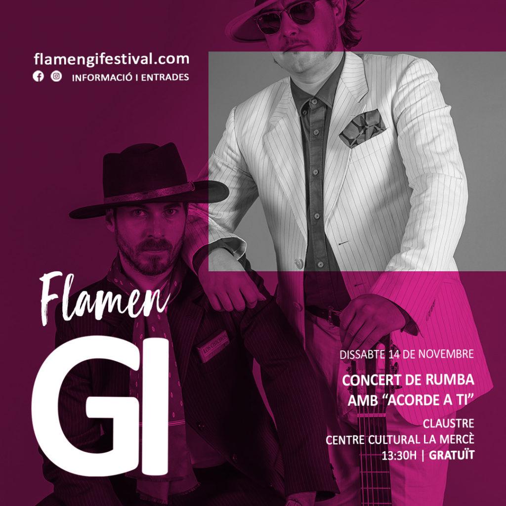 acorde a ti rumba flamengi festival 2020 concert