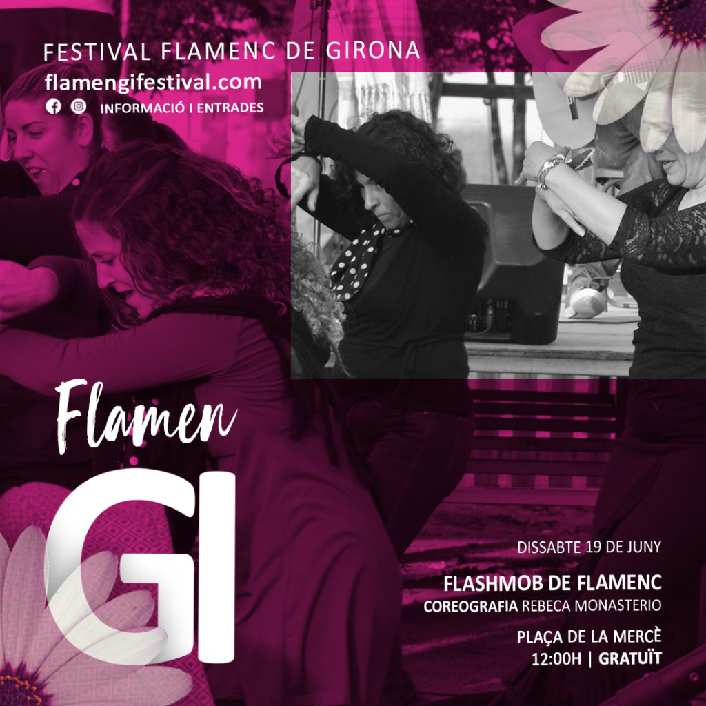 flamengi 2021 flashmob flamenc girona