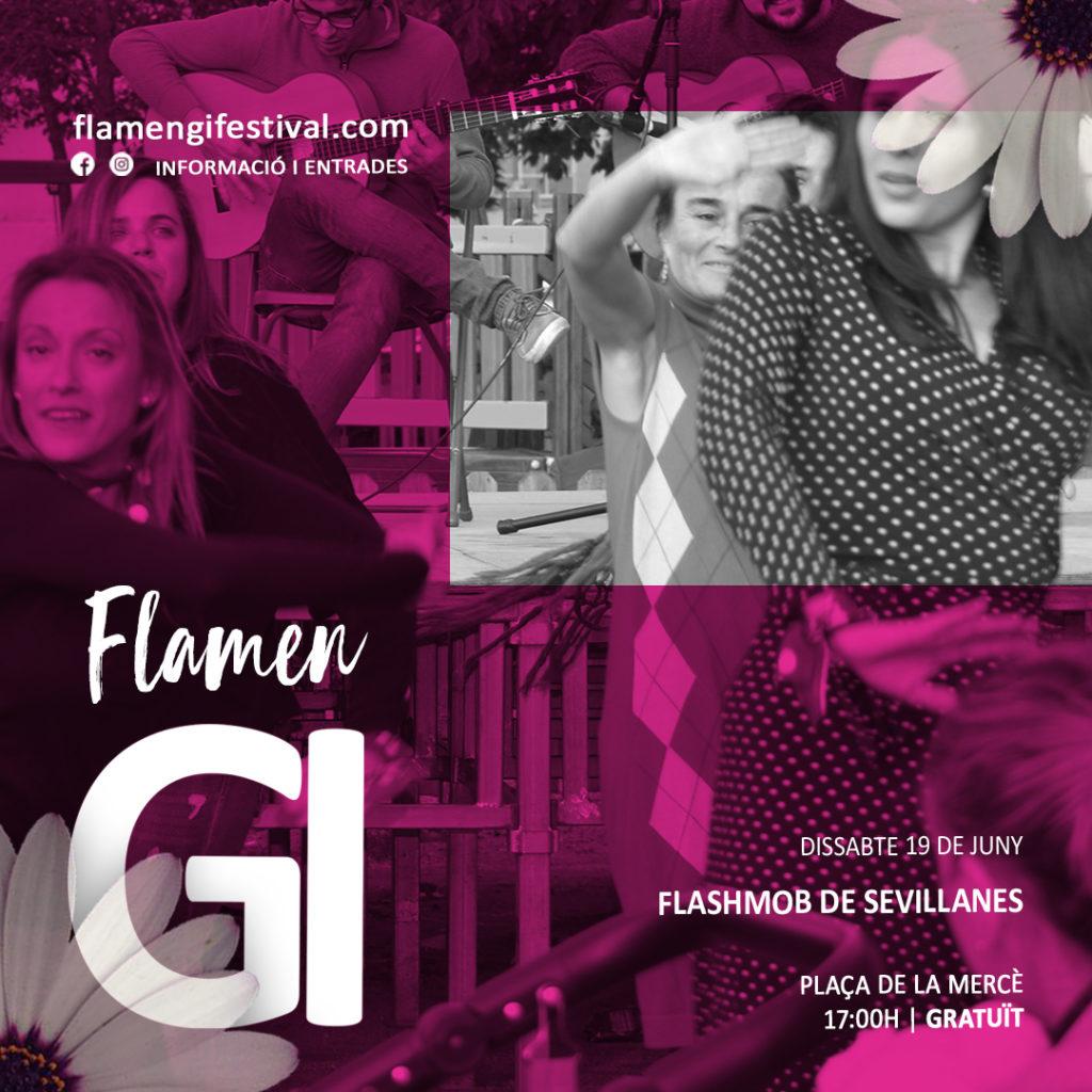 flamengi 2021 flashmob sevillanes flamenc girona