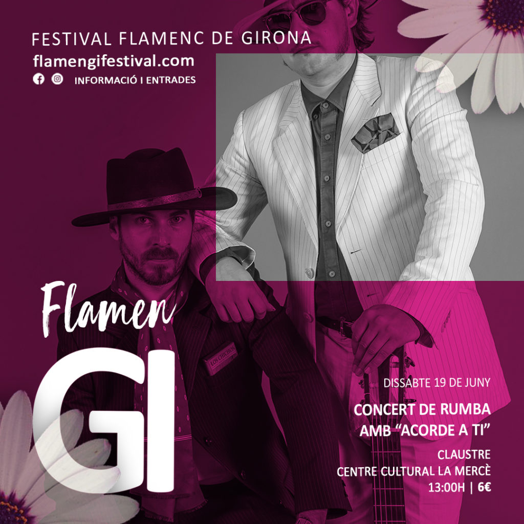 flamengi 2021 concert rumba acorde a ti flamenc girona