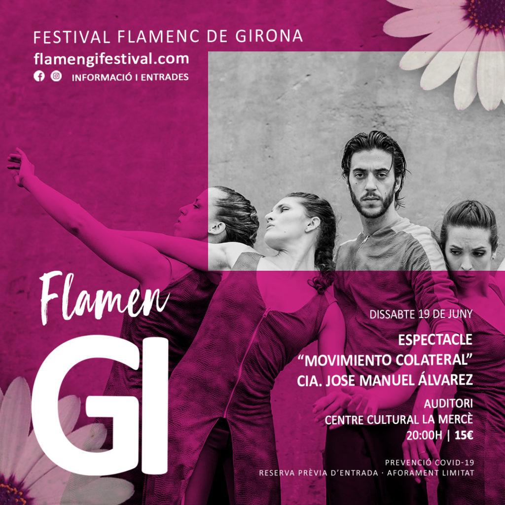 flamengi 2021 espectacle colateral flamenc girona José Manuel Álvarez
