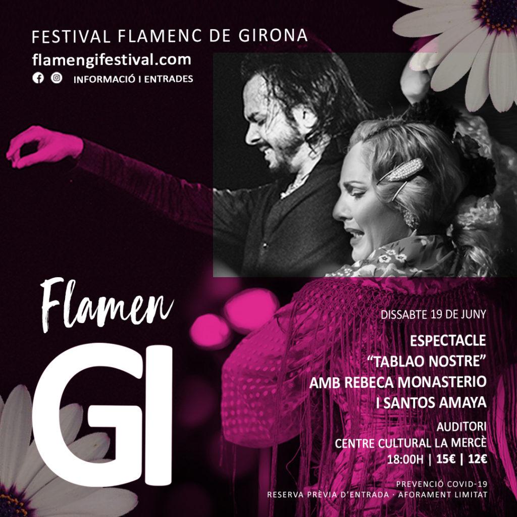 flamengi 2021 espectacle tablao nostre flamenc girona