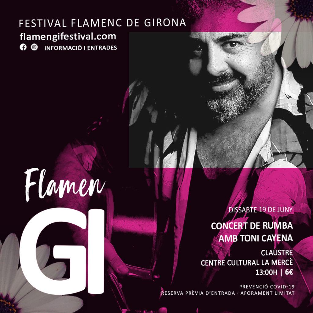flamengi 2021 concert toni cayena lamenc girona