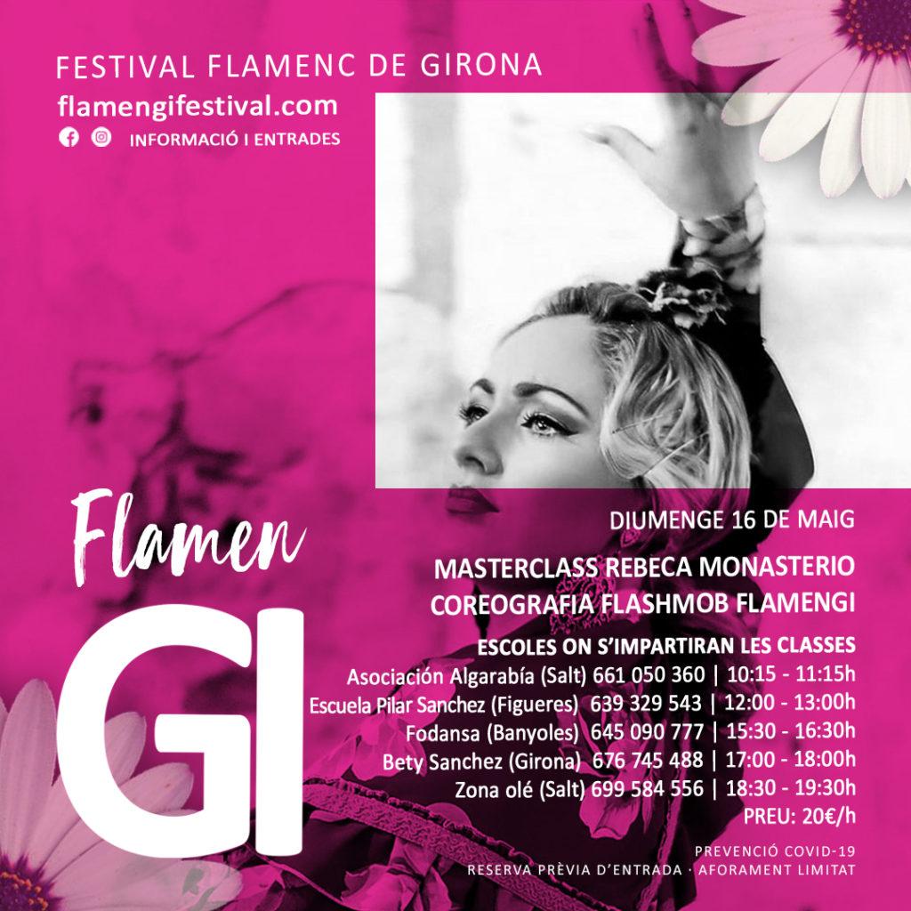 flamengi 2021 flashmob flamenc girona coreografia